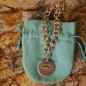 Sterling Silver Return to Tiffany Link Bracelet